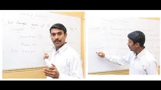 Accounting Lecture 1 - Basic Debit and Credit Concepts