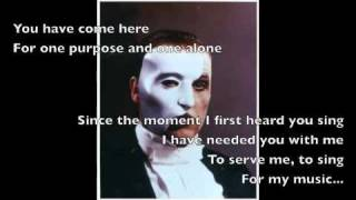 The Phantom of the Opera (With Pictures and Lyrics)
