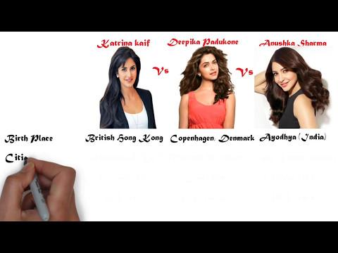 Xxx Mp4 Katrina Kaif Vs Deepika Padukone Vs Anushka Sharma Comparison 3gp Sex