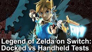 Zelda: Breath of the Wild - Switch Docked vs Undocked Comparison + Frame-Rate Test