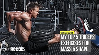 Top 5 Tricep Exercises
