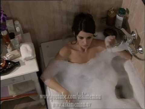 Aşkı Memnu 32. Bölüm Bihter Behlül Banyo Sahnesi