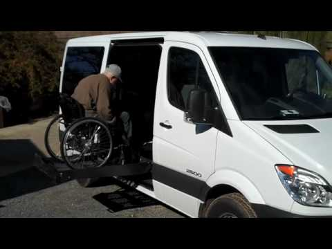 Sprinter Wheelchair Conversion by Rollx