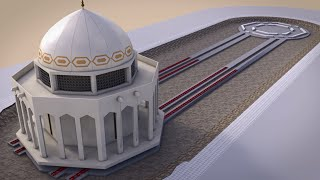 Jeddah Mosque Relocation, Mammoet animation