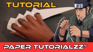 How To Make a Paper Karambit Naruto-style (Tutorial)