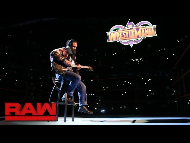 Elias' performance doesn't go as planned: Raw, March 12, 2018
