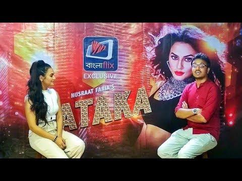 Xxx Mp4 Sadat Hossain Interviewed Nusrat Faria About Her First Song PATAKA 3gp Sex