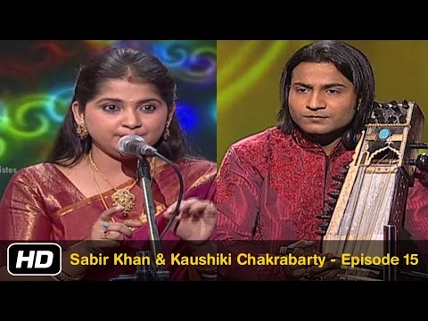 Sabir Khan & Kaushiki Chakrabarty Episode 15 Idea Jalsa