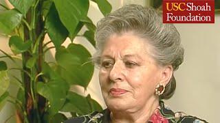 Holocaust Survivor Helen Colin Full Testimony