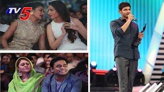 Hero Mahesh Babu Received Best Telugu Actor Award | 61st Filmfare Awards 2014 | TV5 News