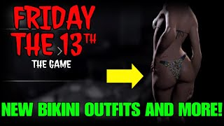 NEW BIKINI OUTFITS, & RAIN EFFECT UPDATE!! | Friday the 13th: The Game