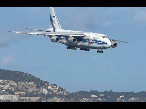 Hard day to land an Antonov 124