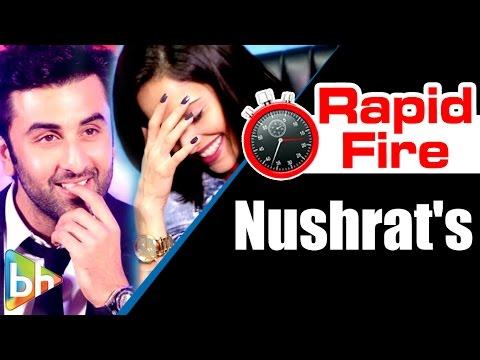 Xxx Mp4 Nushrat Bharucha S Hilarious Rapid Fire On Shah Rukh Khan Kajol Salman Khan Ranbir DDLJ 3gp Sex