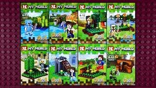 LEGO Minecraft My World Minifigures (knock-off) YL816