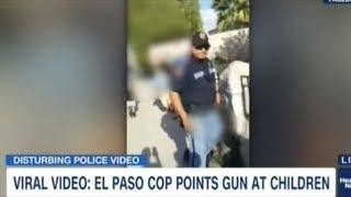 Video Shows Texas Cop Point His Gun At Children