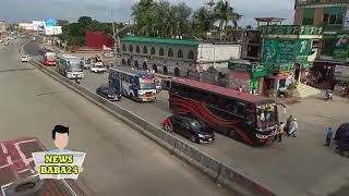 কুমিল্লা ক্যান্টনমেন্টের ফুটওভার ব্রিজ ব্যবহার করছে না কেউ Comilla Cantonment Footover Bridge