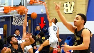 Amari Bailey & Scottie Pippen Jr DUNKING ON PEOPLE NOW?! Player Talking BACK To Crowd!