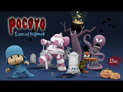 Pocoyo Halloween Pelis de terror para niños ¡25 minutos de diversión