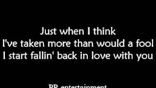 Alicia Keys - Falling lyrics by PR