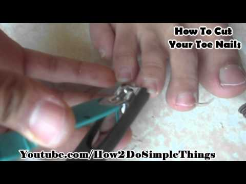 How To Cut Your Toe Nails