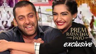 Salman Khan & Sonam Kapoor's Exclusive Interview with SpotboyE | Prem Ratan Dhan Payo