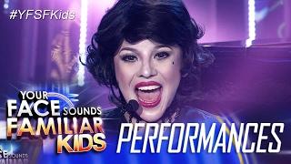 Your Face Sounds Familiar Kids: Awra Briguela as Liza Minelli - Cabaret