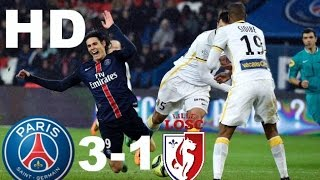 PSG vs Lille 3:1 ~All Goals and Highlights~(France Cup) 14/12/16