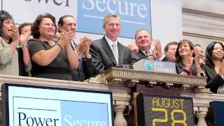 PowerSecure Celebrates Transfer of Common Stock Listing to the NYSE
