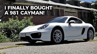 I Finally Bought a 981 Porsche Cayman!