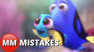 Finding Dory Movie MISTAKES You Didn