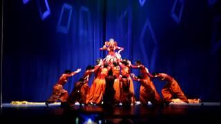 Indian group Champa ,Russia, Yoshkar-Ola  - Ganapati dance