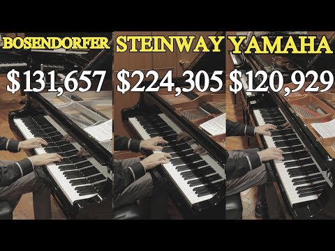 Can You Hear The Difference Between a Steinway Yamaha and Bosendorfer