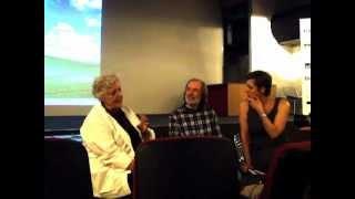 Sheila Hicks e Jiri Kovanda em conversa com o educativo da XXX!