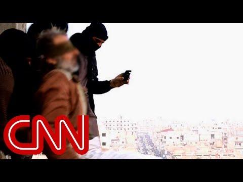 ISIS throws gay men off buildings