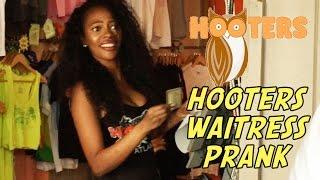 Hooters Waitress Prank!