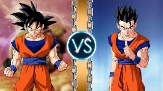 Goku vs Gohan