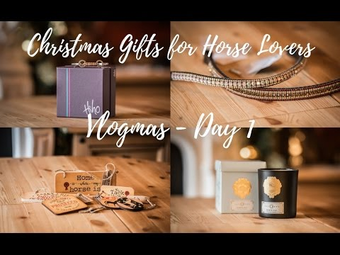 THE HORSE LOVERS CHRISTMAS GIFT GUIDE - Vlogmas #1, Sophie Callahan Photography
