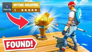 *WORLDS FIRST* MYTHIC Goldfish FOUND! (0.000001% Chance)