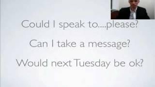 English telephone conversation - Part 2