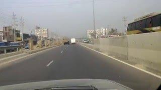 Maona flyover on Dhaka Mymensingh 4 lane highway