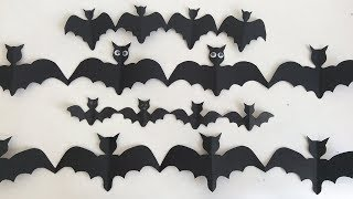 Ideas para Halloween👻Como hacer murcielagos👻Decoraciones para Halloween👻Decorations for Halloween