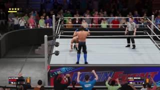 WWE 2K17 - AJ Styles Phenomenal Forearm