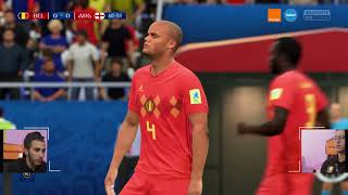 E-Gaming Russia : England VS Belgium