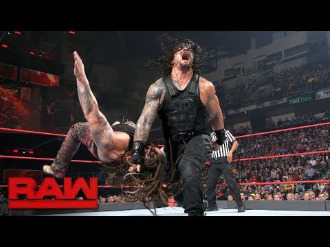 Xxx Mp4 Bray Wyatt Enters Roman Reigns' Yard Raw June 5 2017 3gp Sex