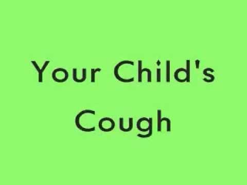 Child's Cough - Bark-Like Sound - LISTEN!!!