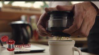 Introducing CAFFLANO® KOMPACT, Simple Pressing Hot & Cold Brewer (カフラーノ® コンパクト)