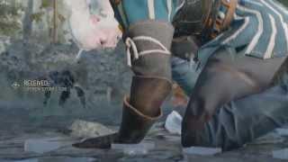 The Witcher 3  - Vesemir Death Scene [1080p HD]