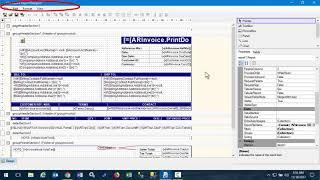 Acumatica Report Versions