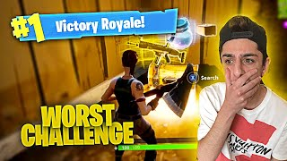 THIS FORTNITE CHALLENGE IS IMPOSSIBLE!! (DO NOT ATTEMPT)