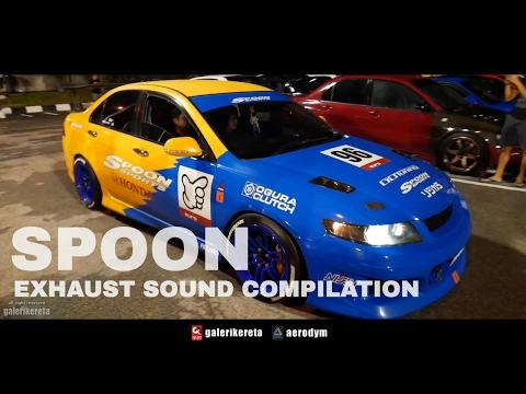 Honda Spoon Sound Compilation - XO AutoSport Street Style in Malaysia